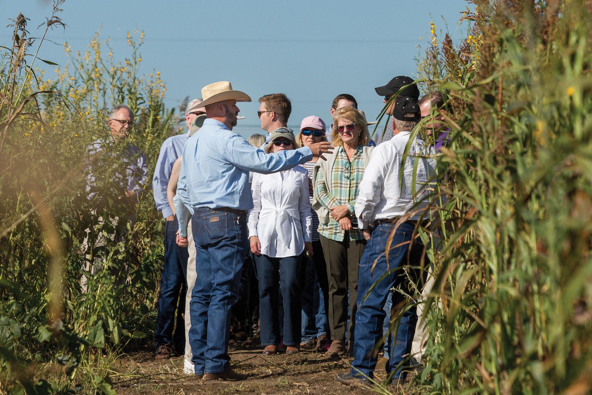 Soil health tour