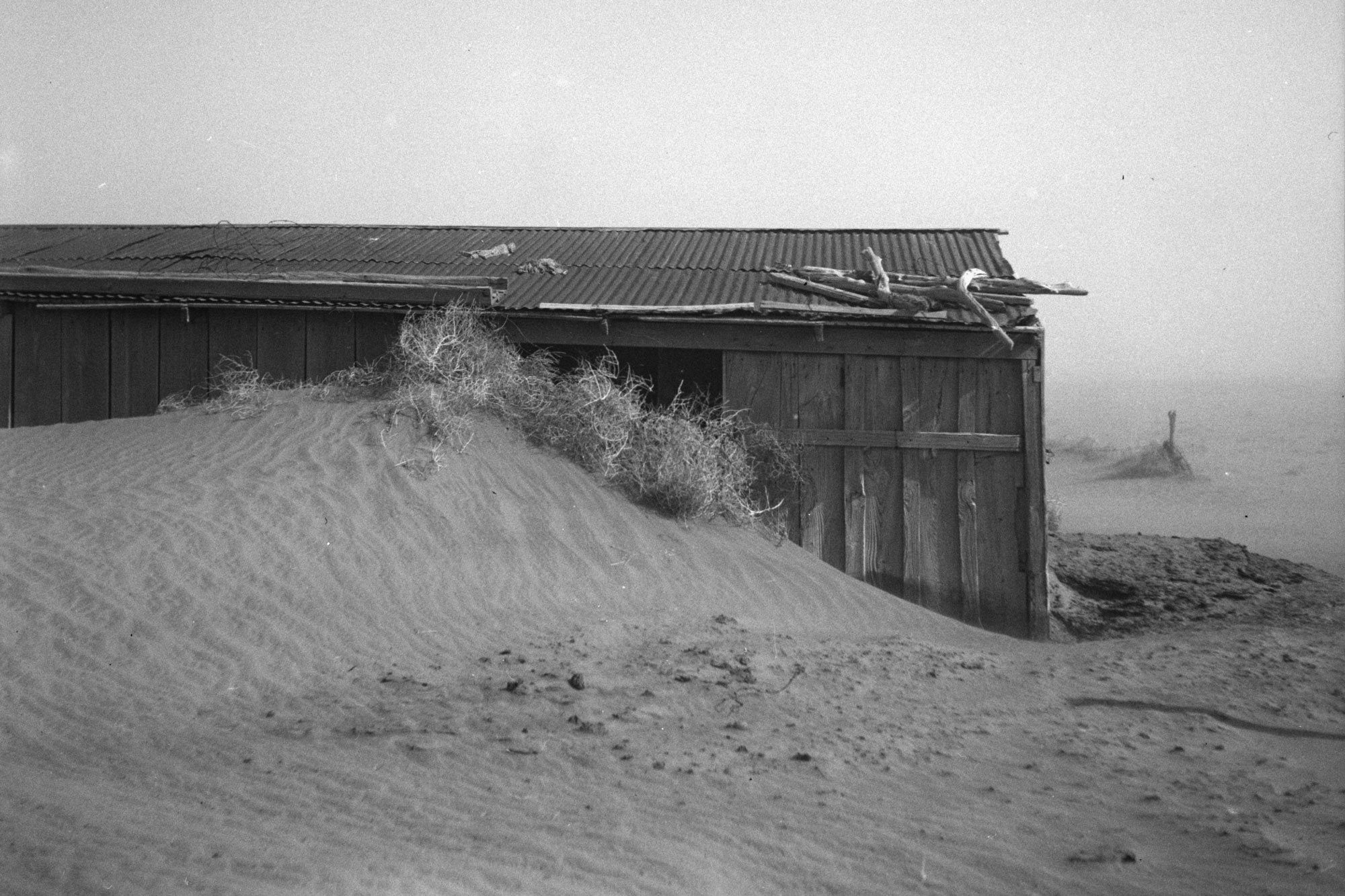 Photo of the Oklahoma Dust Bowl of the 1930s