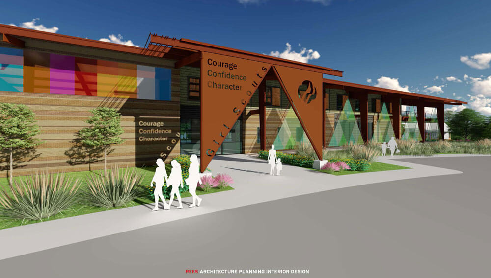 Artist renderings of the Camp Trivera campus