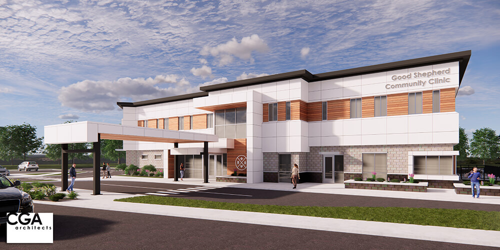 Concept image for the new wellness center