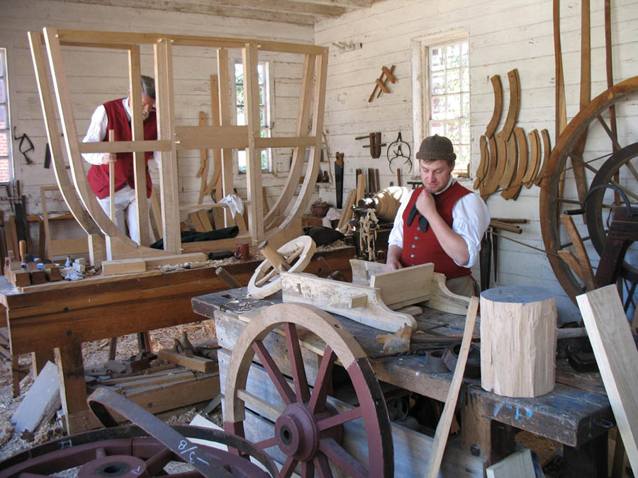 Williamsburg craftsmen