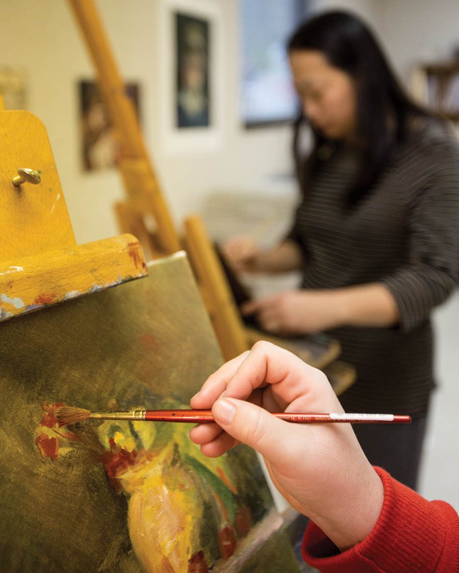 Goddard Center art classes