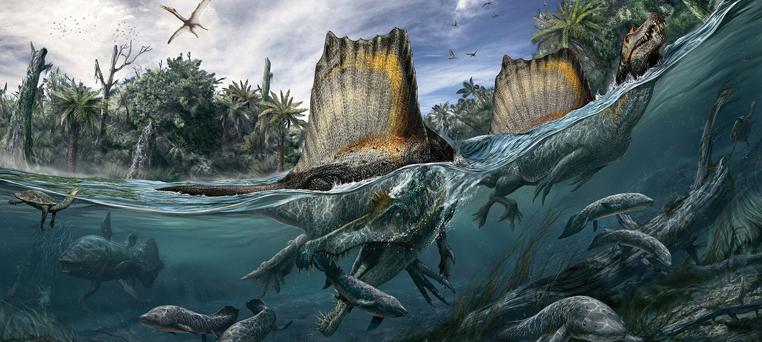 Spinosaurus: Lost Giant of the Cretaceous